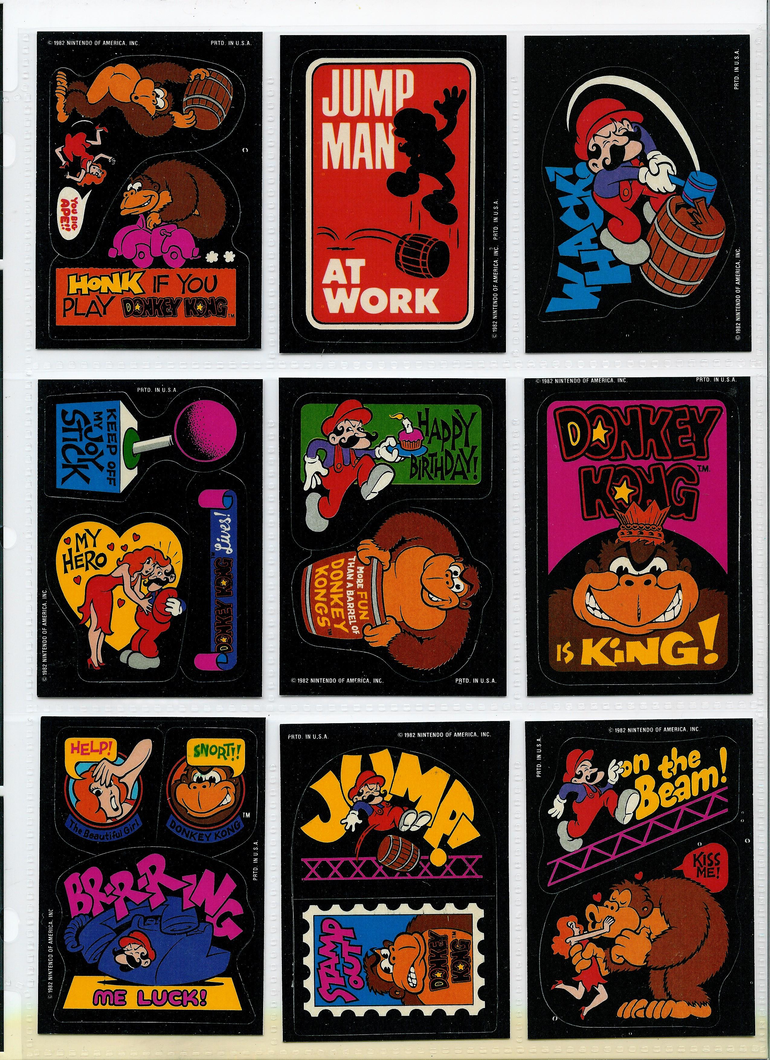 Donkey kong Donkeys and Stickers on Pinterest